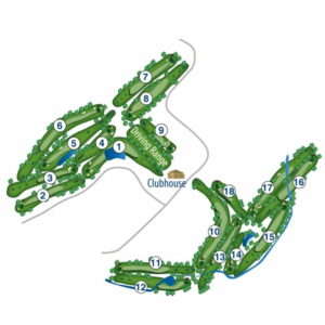 Northern Hills Golf Course Map