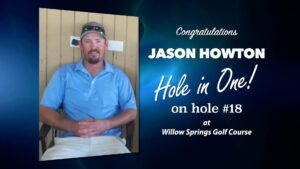 Jason Howton Alamo City Golf Trail Hole in One