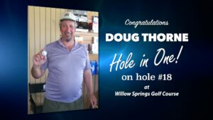 Doug Thorne Alamo City Golf Trail Hole in One