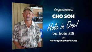 Cho Soh Alamo City Golf Trail Hole in One