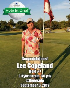 Lee Copeland Hole In One
