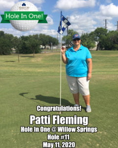 Patti Fleming Hole In One
