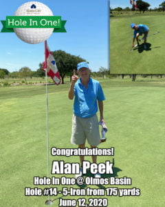 Alan Peek Hole In One