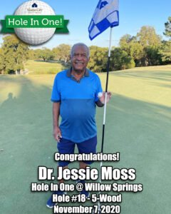 Jessie Moss Hole In One
